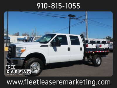 2015 Ford Super Duty F-250 4WD SRW 8 Foot Flatbed