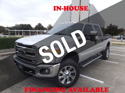 2015 Ford Super Duty F-250 SRW 2015 FORD F-250 SD XLT CREW CAB 4WD, 121K MILES, AIRBAGS, CLEAN! Truck