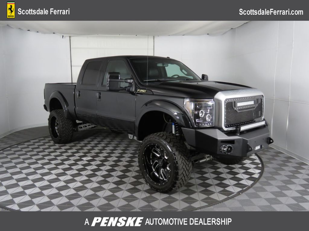"2015 Ford Super Duty F-250 SRW 4WD Crew Cab 156"" Platinum - 18819270 - 0"