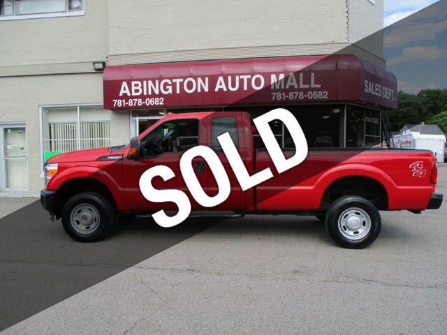 2015 Ford Super Duty F-250 SRW  4X4 Extra Cab with 8ft bed only 93k...