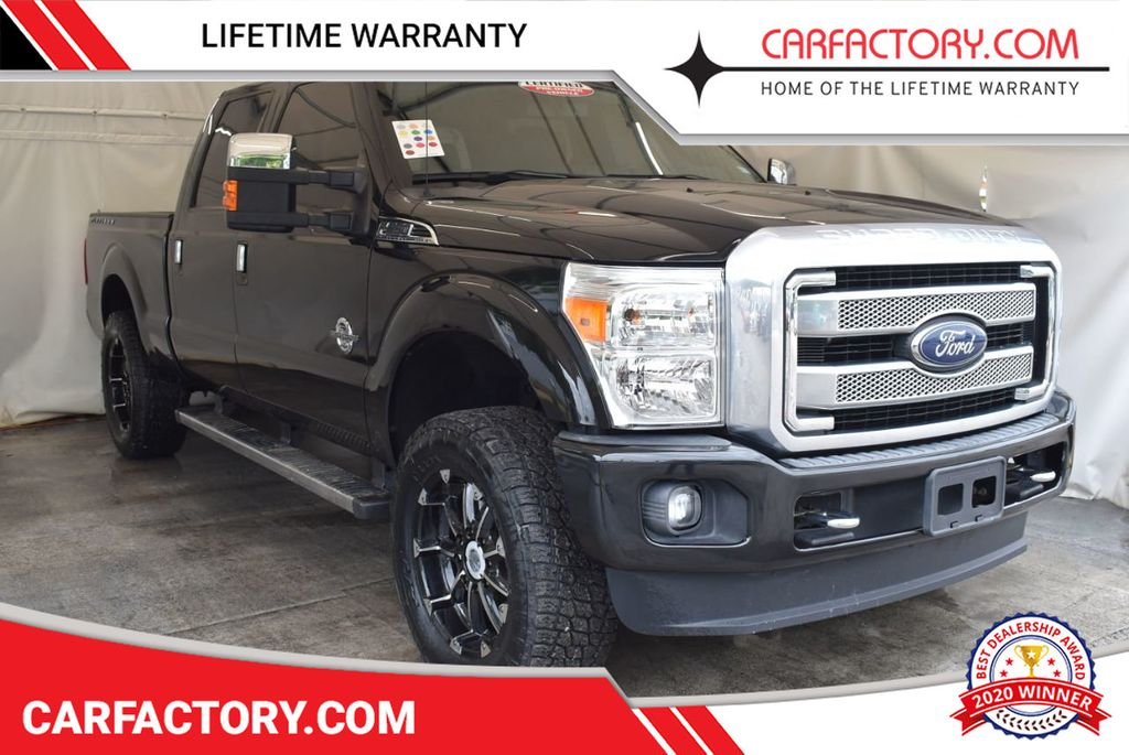 2015 Used Ford Super Duty F 250 Srw Platinum Edition 5 Lift Kit 20