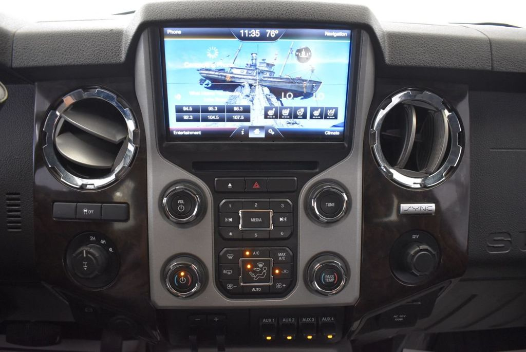 "2015 Ford Super Duty F-250 SRW Platinum Edition 5"" Lift Kit 20"" XD Series Wheels w/Nitto Tires - 18194292 - 18"
