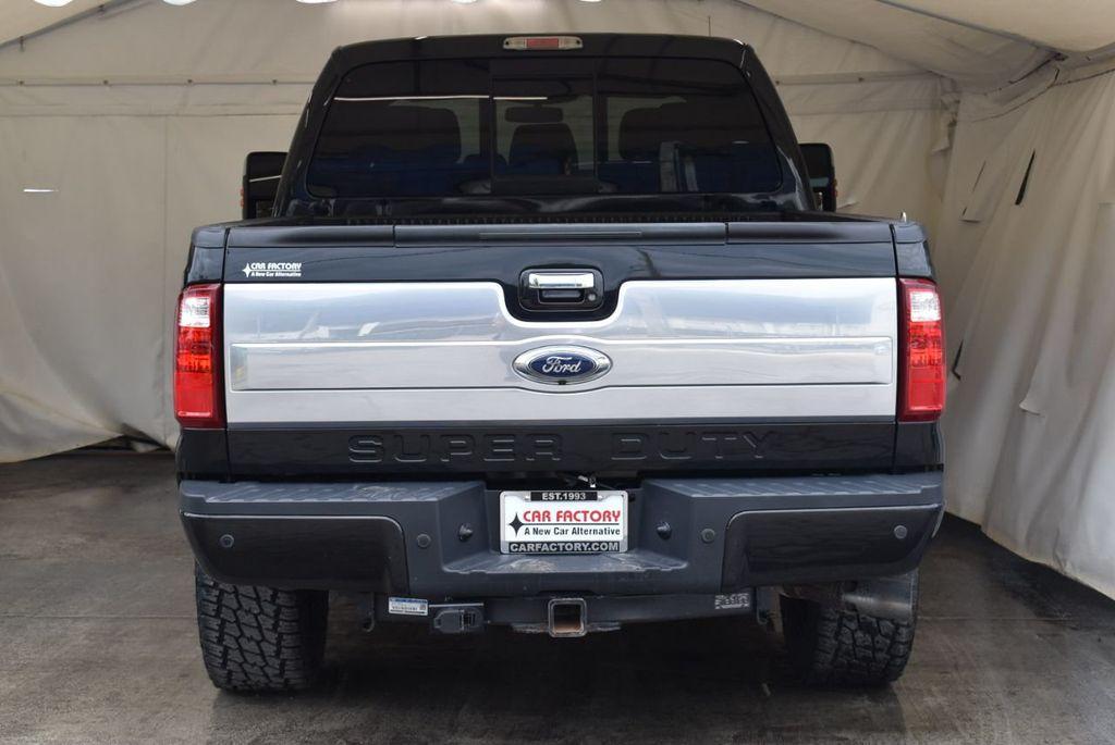 "2015 Ford Super Duty F-250 SRW Platinum Edition 5"" Lift Kit 20"" XD Series Wheels w/Nitto Tires - 18194292 - 5"