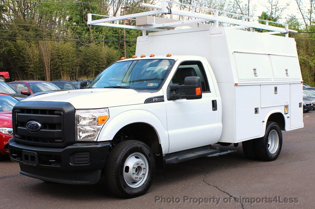 2015 used ford super duty f-350 drw f350 4wd dually xl regular cab