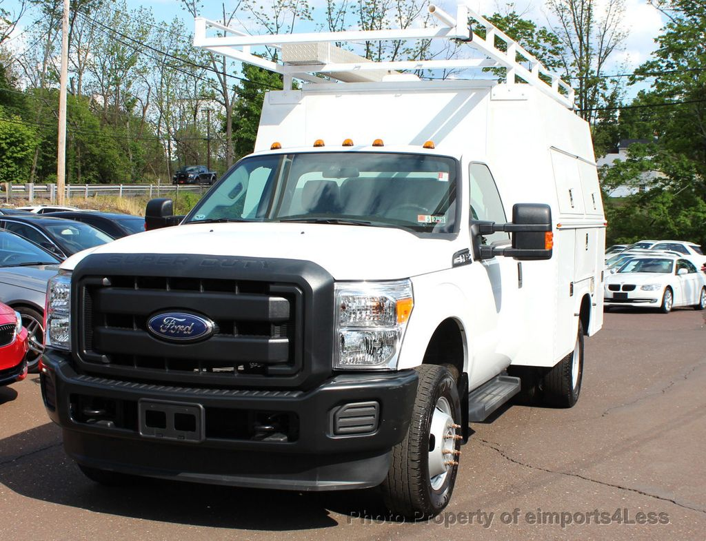 2015 ford super duty f 350 drw f350 4wd dually xl regular cab with utility