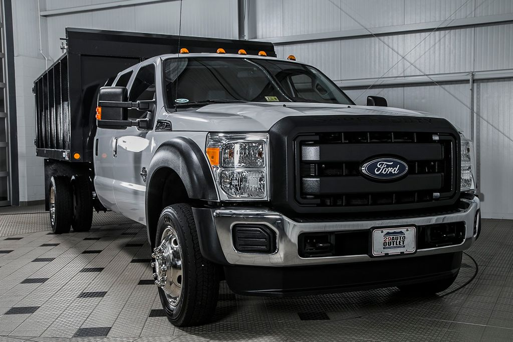 2015 used ford super duty f 450 drw cab chassis 12 39 landscape dump at country commercial center. Black Bedroom Furniture Sets. Home Design Ideas