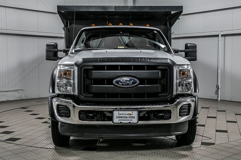 2015 Ford Super Duty F-450 DRW Cab-Chassis F450 REG CAB * 6.7 POWERSTROKE * 12' LANDSCAPE DUMP - 16591978 - 2