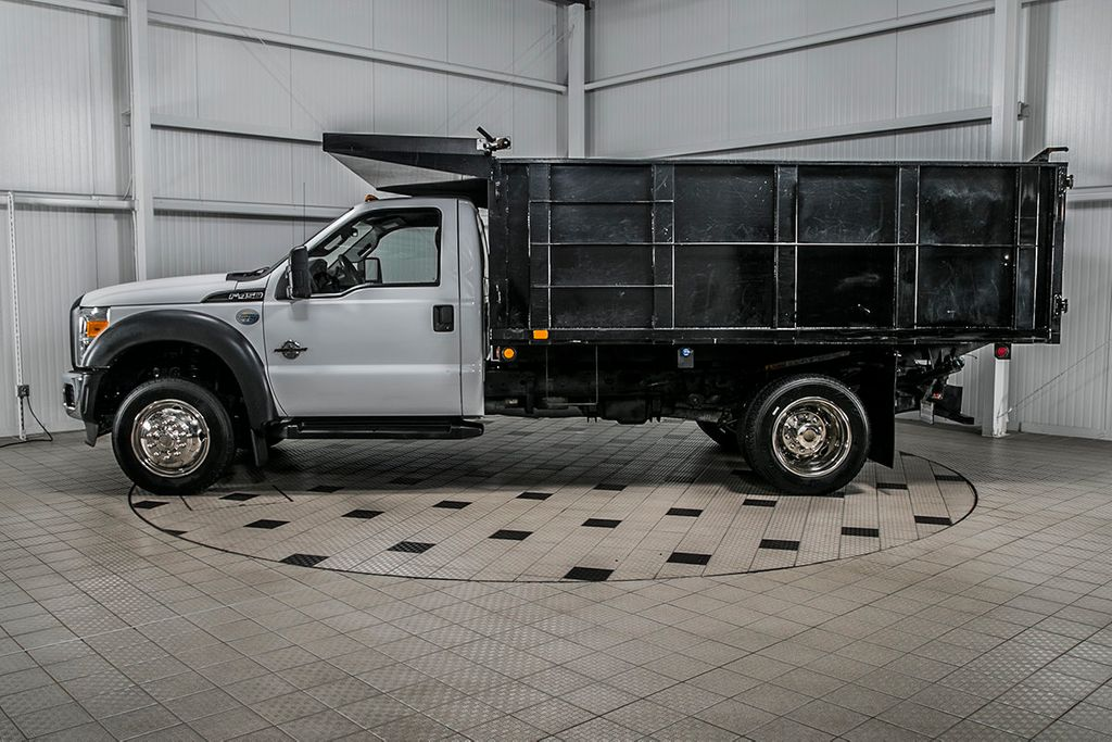2015 Ford Super Duty F-450 DRW Cab-Chassis F450 REG CAB * 6.7 POWERSTROKE * 12' LANDSCAPE DUMP - 16591978 - 4