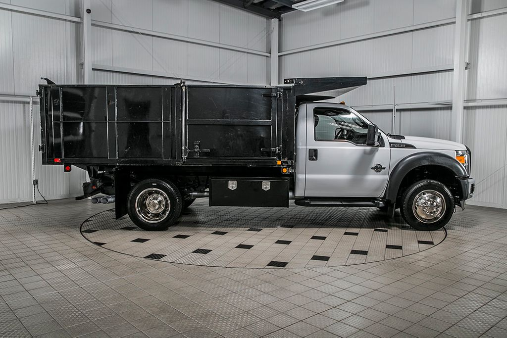 2015 Ford Super Duty F-450 DRW Cab-Chassis F450 REG CAB * 6.7 POWERSTROKE * 12' LANDSCAPE DUMP - 16591978 - 7
