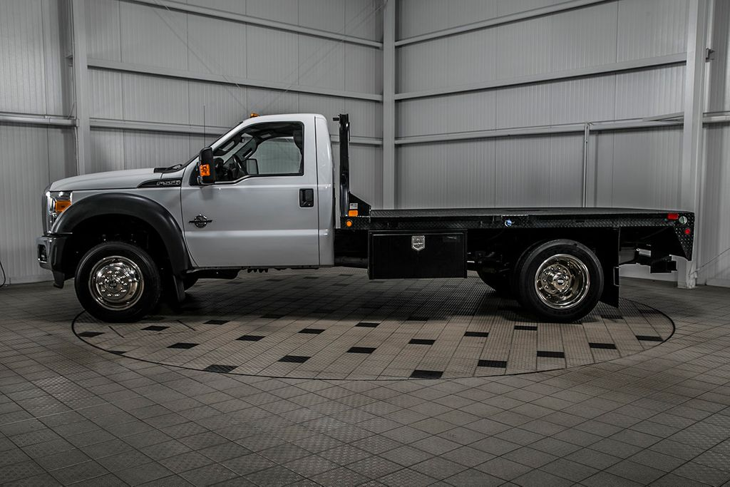2015 Ford Super Duty F-550 DRW F550 REG CAB 4X4 * 6.7 POWERSTROKE * 11' C&M FLATBED * 1 OWNER - 17136112 - 3