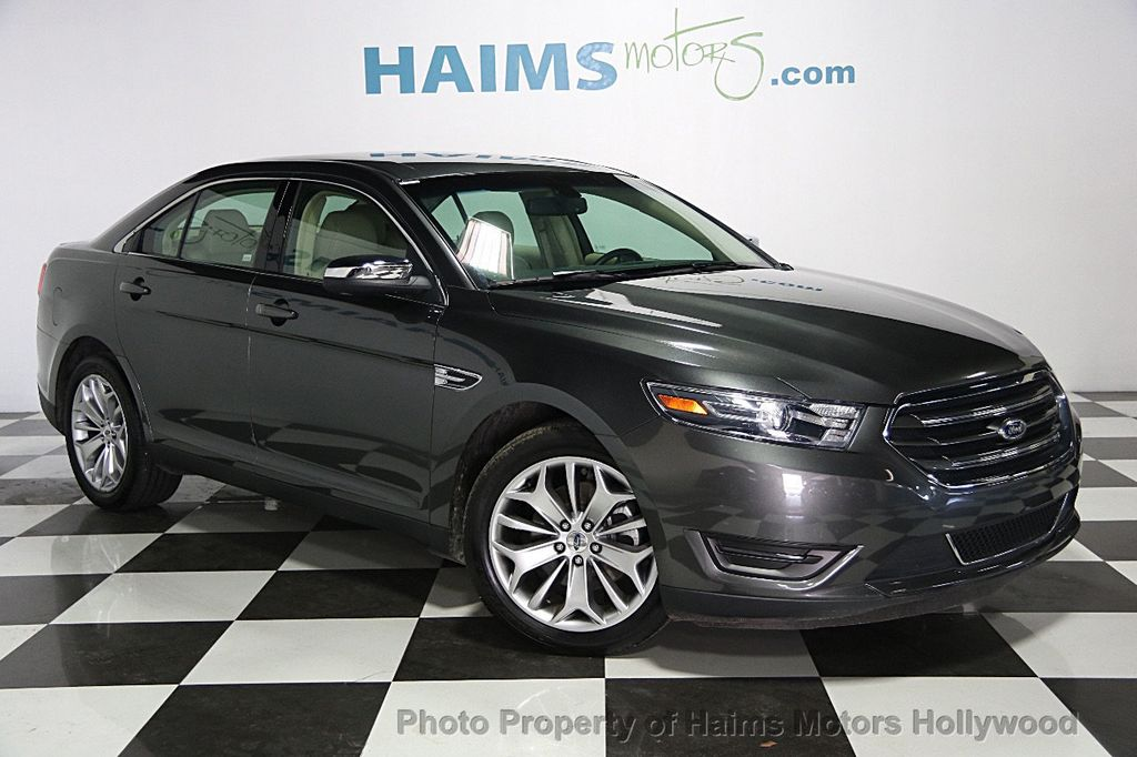 2015 used ford taurus 4dr sedan limited fwd at haims motors serving fort lauderdale hollywood. Black Bedroom Furniture Sets. Home Design Ideas