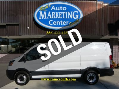 "2015 Ford Transit Cargo Van T-150 130"" Low Rf 8600 GVWR Sliding RH Dr - Click to see full-size photo viewer"