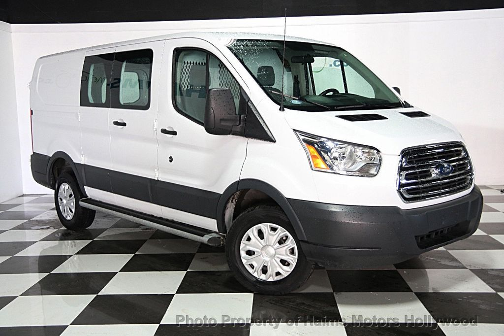 2015 used ford transit cargo van t 150 130 low rf 8600 gvwr swing out rh dr at haims motors. Black Bedroom Furniture Sets. Home Design Ideas