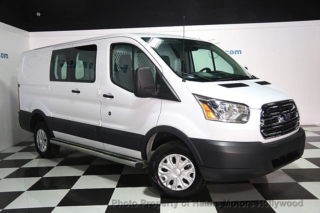 2017 Ford Transit Cargo Van T 250 130 Low Rf 9000 Gvwr Swing