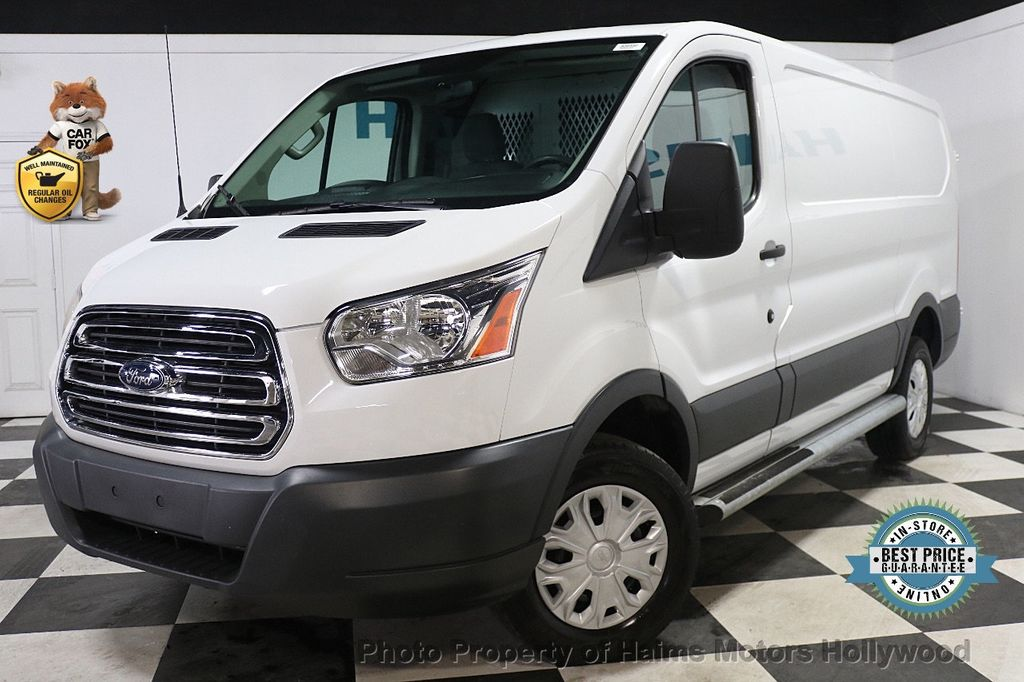 "2015 Ford Transit Cargo Van T-250 130"" Low Rf 9000 GVWR Swing-Out RH Dr - 17933697 - 0"