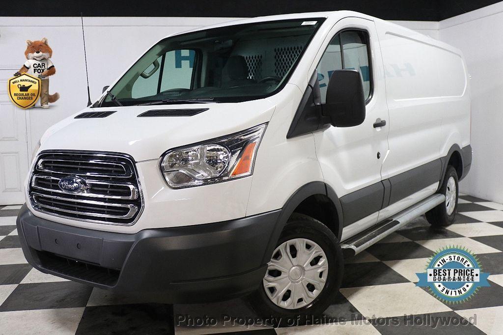 "2015 Ford Transit Cargo Van T-250 130"" Low Rf 9000 GVWR Swing-Out RH Dr - 17933697 - 0"