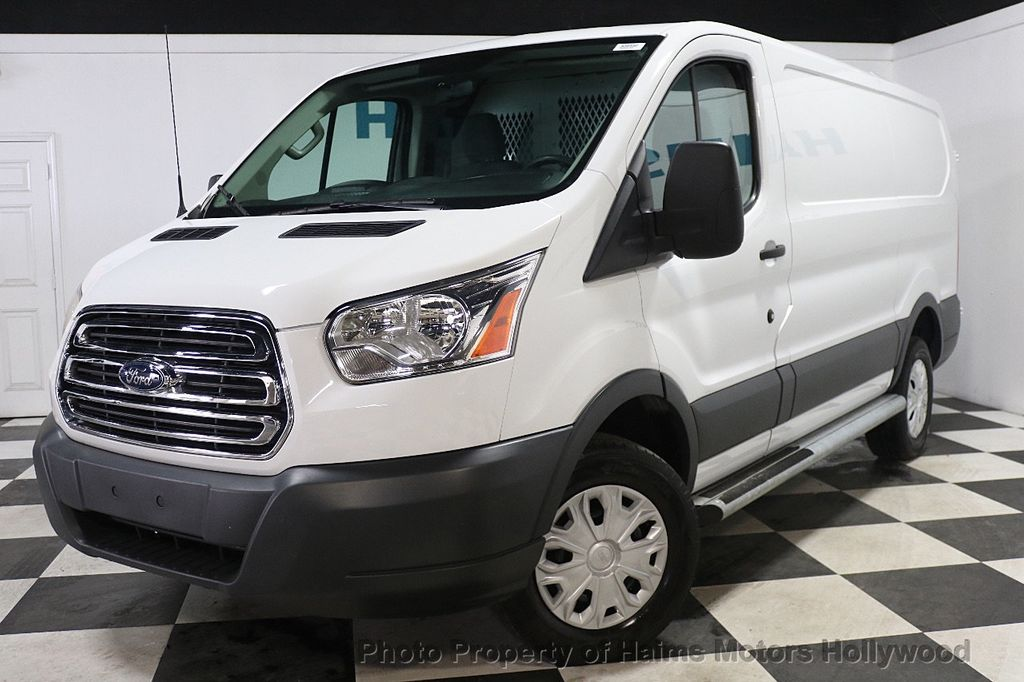 "2015 Ford Transit Cargo Van T-250 130"" Low Rf 9000 GVWR Swing-Out RH Dr - 17933697 - 1"