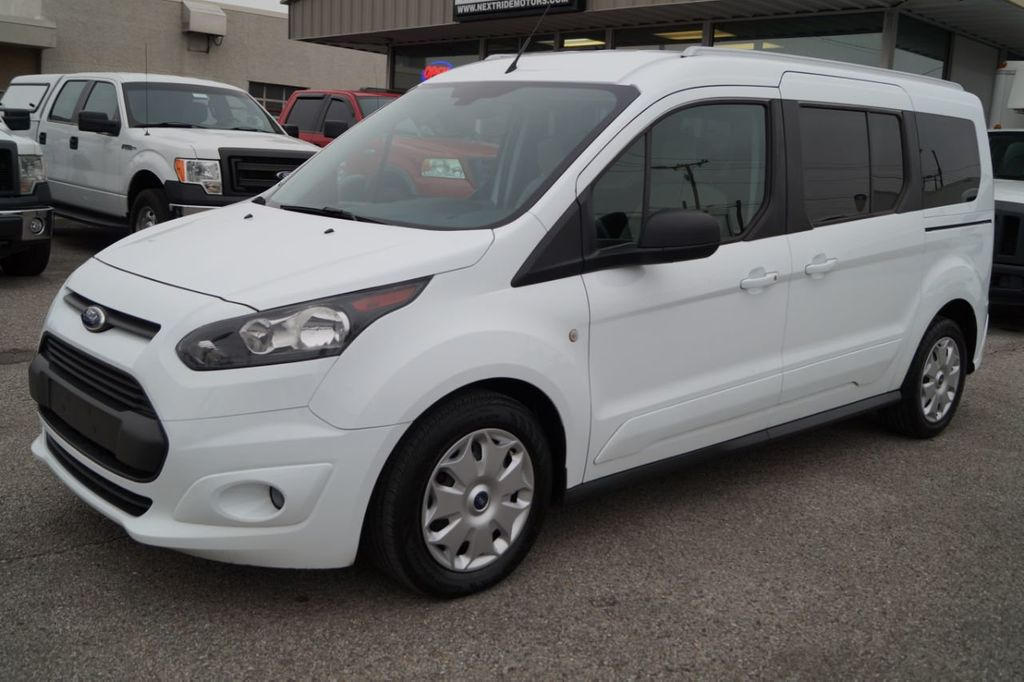 2015 Used Ford Transit Connect Wagon 2015 FORD TRANSIT CONNECT XLT 7-PASS  OFF LEASE 615-678-7444 at Next Ride Motors Serving Nashville, TN, IID