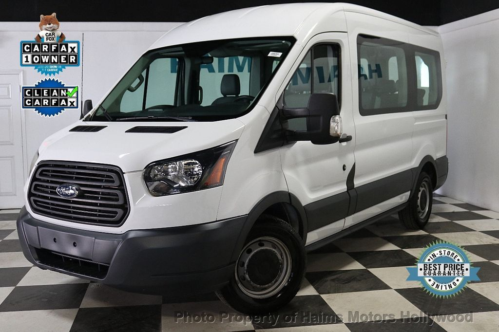 "2015 Ford Transit Wagon T-150 130"" Med Roof XL Sliding RH Dr - 18164097 - 0"