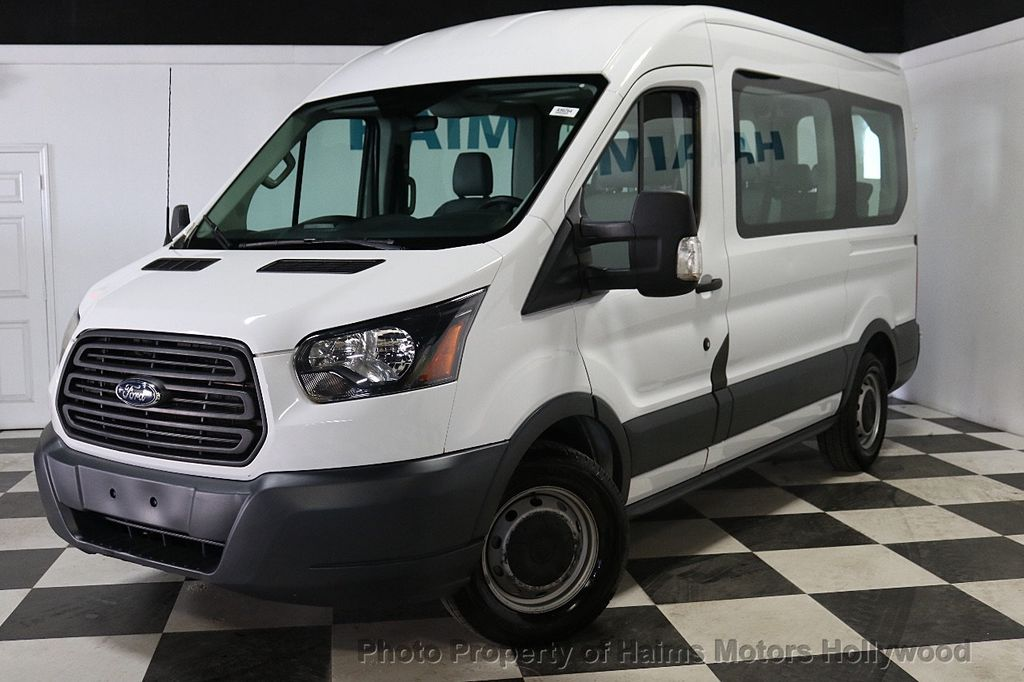 "2015 Ford Transit Wagon T-150 130"" Med Roof XL Sliding RH Dr - 18164097 - 1"