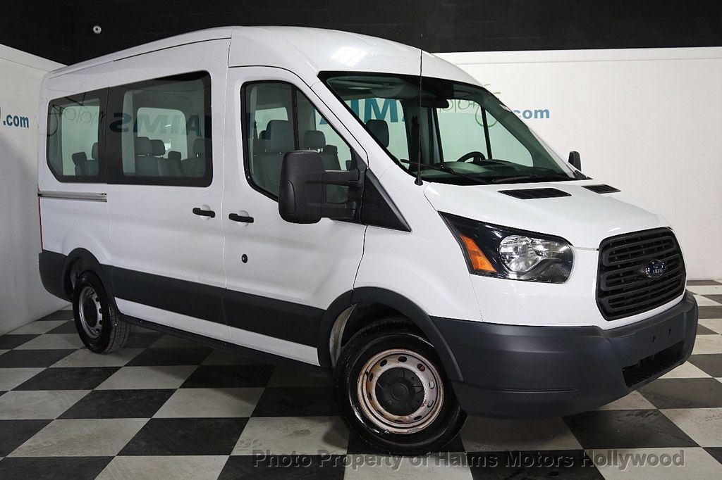 "2015 Ford Transit Wagon T-150 130"" Med Roof XL Sliding RH Dr - 18164097 - 3"