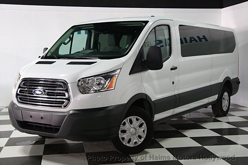 2015 used ford transit wagon t 350 148 low roof xl sliding rh dr at haims motors serving fort. Black Bedroom Furniture Sets. Home Design Ideas