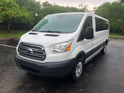 "2015 Ford Transit Wagon T-350 148"" Low Roof XL Swing-Out RH Dr Van"