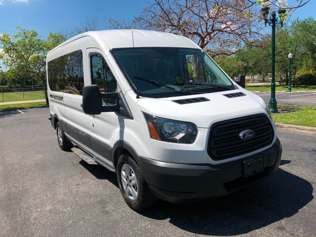 """2015 Ford Transit Wagon T-350 148"""" Med Roof XL Sliding RH Dr - Click to see full-size photo viewer"""