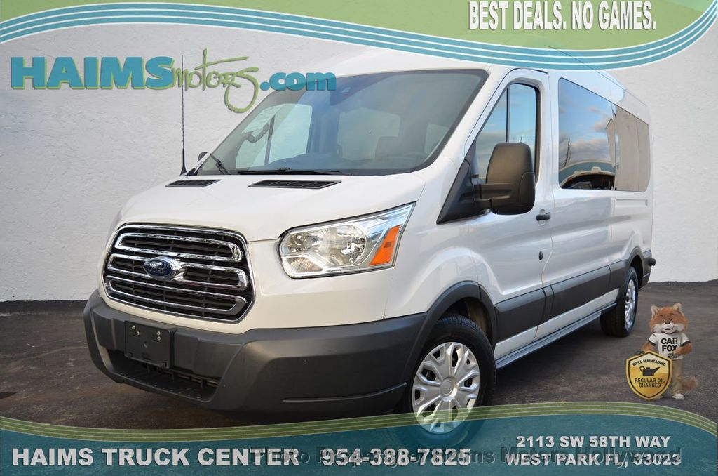 957f953a87 2015 Used Ford Transit Wagon T-350 148