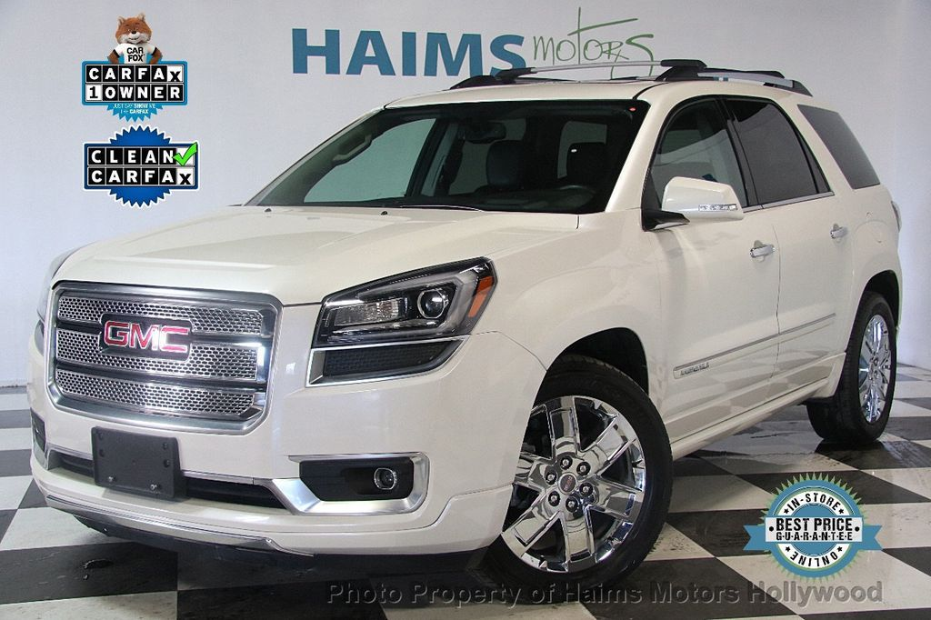 2015 used gmc acadia awd 4dr denali at haims motors serving fort lauderdale hollywood miami. Black Bedroom Furniture Sets. Home Design Ideas
