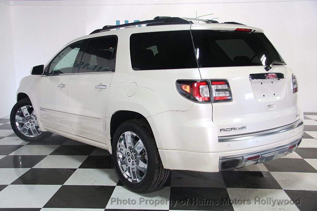 2015 used gmc acadia awd 4dr denali at haims motors. Black Bedroom Furniture Sets. Home Design Ideas