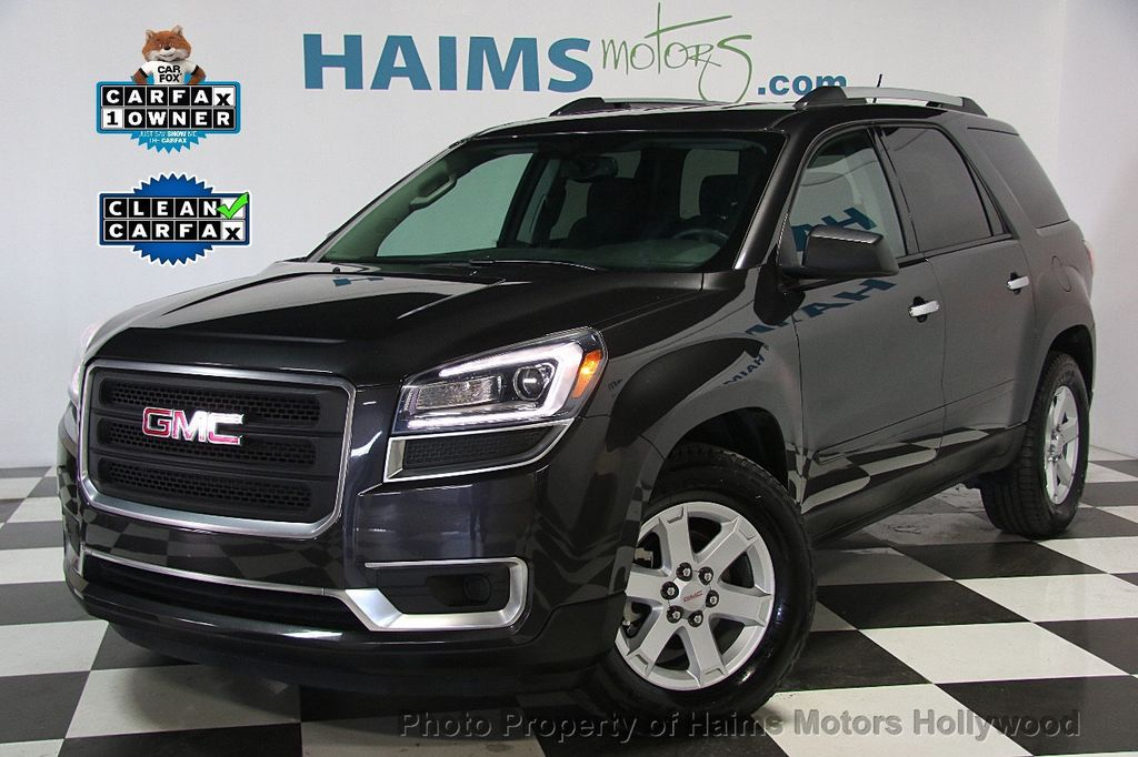 2015 used gmc acadia fwd 4dr sle w sle 2 at haims motors. Black Bedroom Furniture Sets. Home Design Ideas