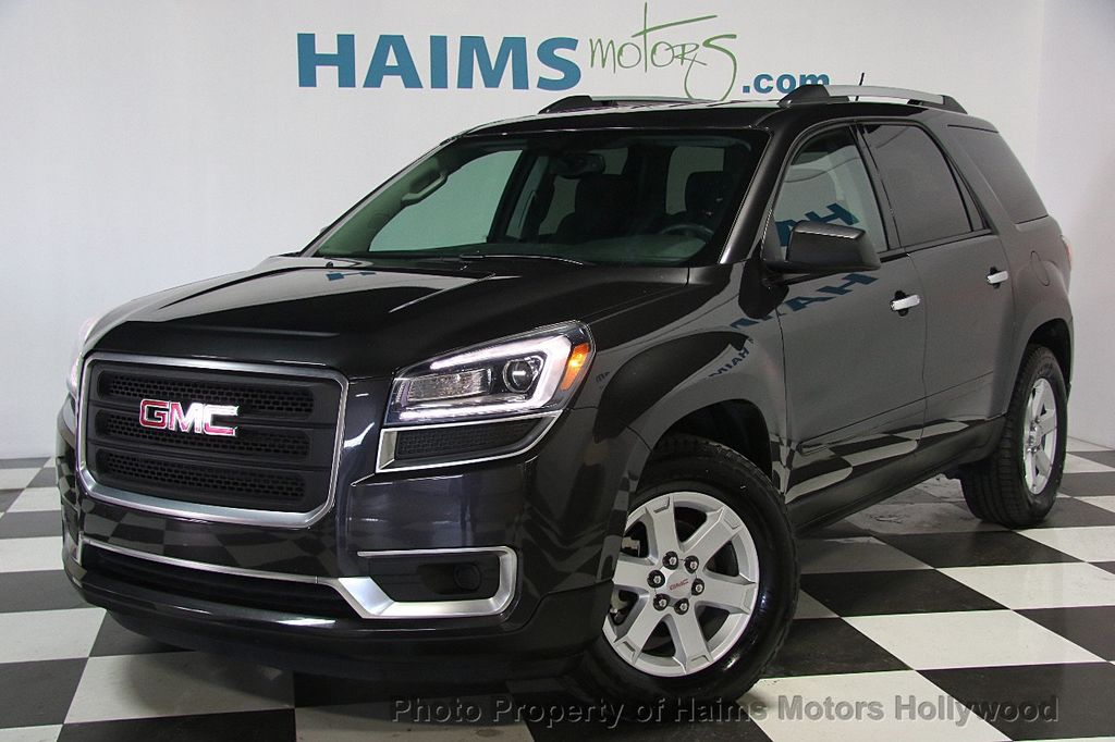 2015 used gmc acadia fwd 4dr sle w sle 2 at haims motors serving fort lauderdale hollywood. Black Bedroom Furniture Sets. Home Design Ideas