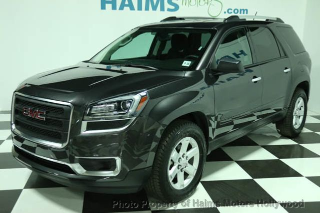 2015 used gmc acadia sle at haims motors ft lauderdale. Black Bedroom Furniture Sets. Home Design Ideas