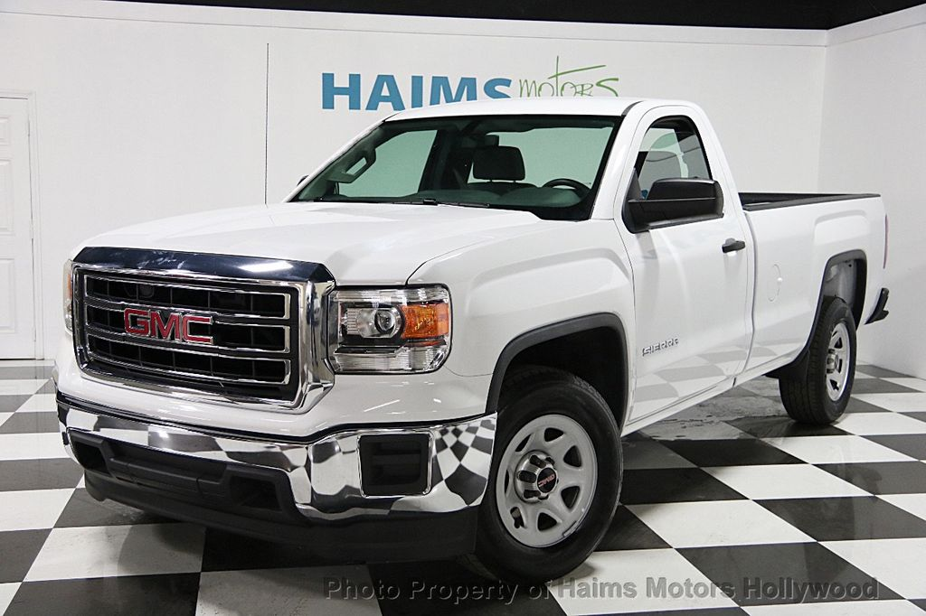 2015 used gmc sierra 1500 2wd regular cab 133 0 at haims motors serving fort lauderdale