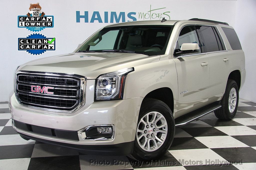 2015 gmc yukon 2wd 4dr sle suv for sale in hollywood fl for Motor city gmc used cars