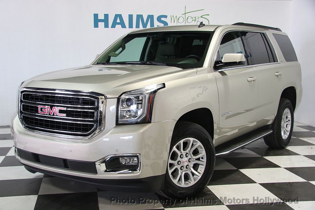 2015 Used Gmc Yukon 2wd 4dr Sle At Haims Motors Serving Fort Lauderdale Hollywood Miami Fl