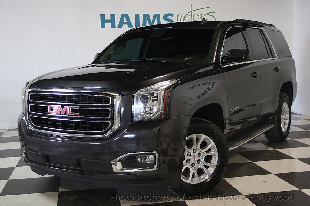 2015 Used Gmc Yukon 2wd 4dr Slt At Haims Motors Ft Lauderdale Serving Lauderdale Lakes Fl Iid