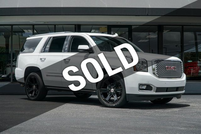 Used Yukon Denali >> 2015 Used Gmc Yukon 4wd 4dr Denali At The Garage Inc