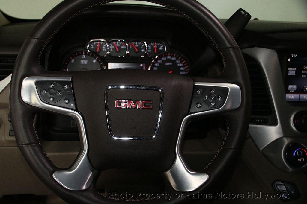 2015 GMC Yukon 4WD 4dr SLT - 17245778 - 31
