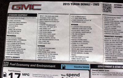 2015 GMC Yukon DENALI HARD LOADED!! - Click to see full-size photo viewer