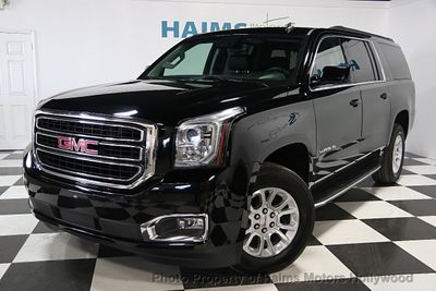 2015 used gmc yukon xl slt at haims motors hollywood serving fort lauderdale hollywood pompano. Black Bedroom Furniture Sets. Home Design Ideas