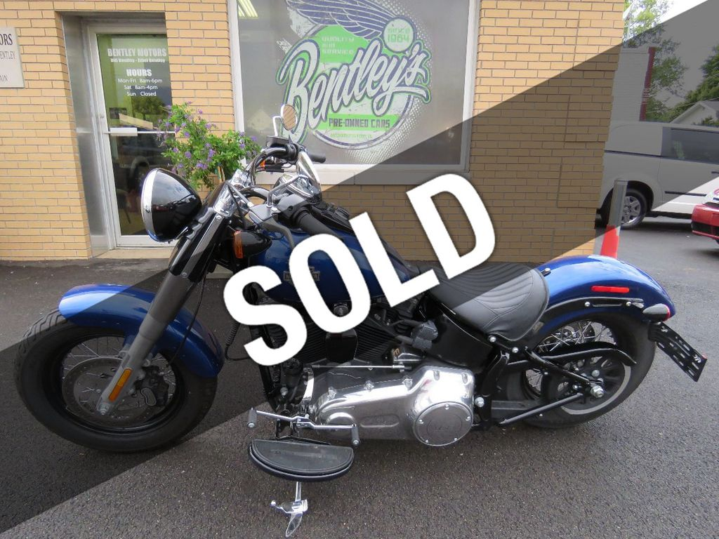 Harley Davidson Used >> 2015 Used Harley Davidson Soft Tail Slim At Bentley Motors Inc Serving Bloomington Il Iid 15554058