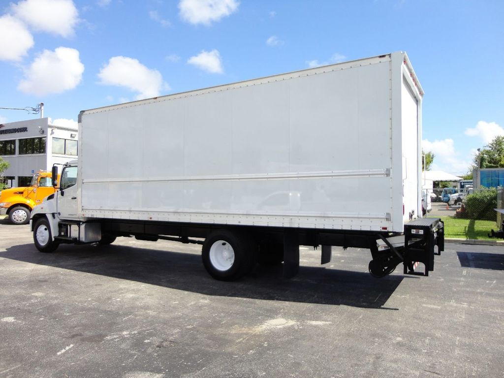 2015 HINO 268 26FT DRY BOX TRUCK . CARGO TRUCK WITH LIFTGATE - 18212180 - 9