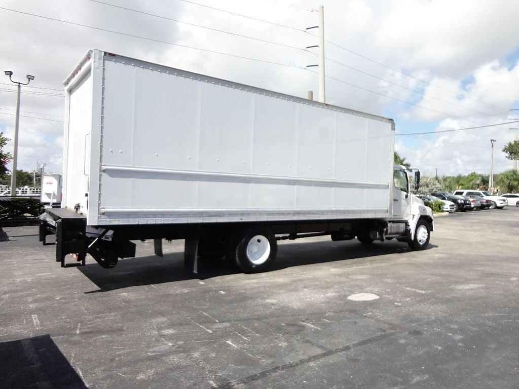 2015 HINO 268 26FT DRY BOX TRUCK . CARGO TRUCK WITH LIFTGATE - 18212180 - 5