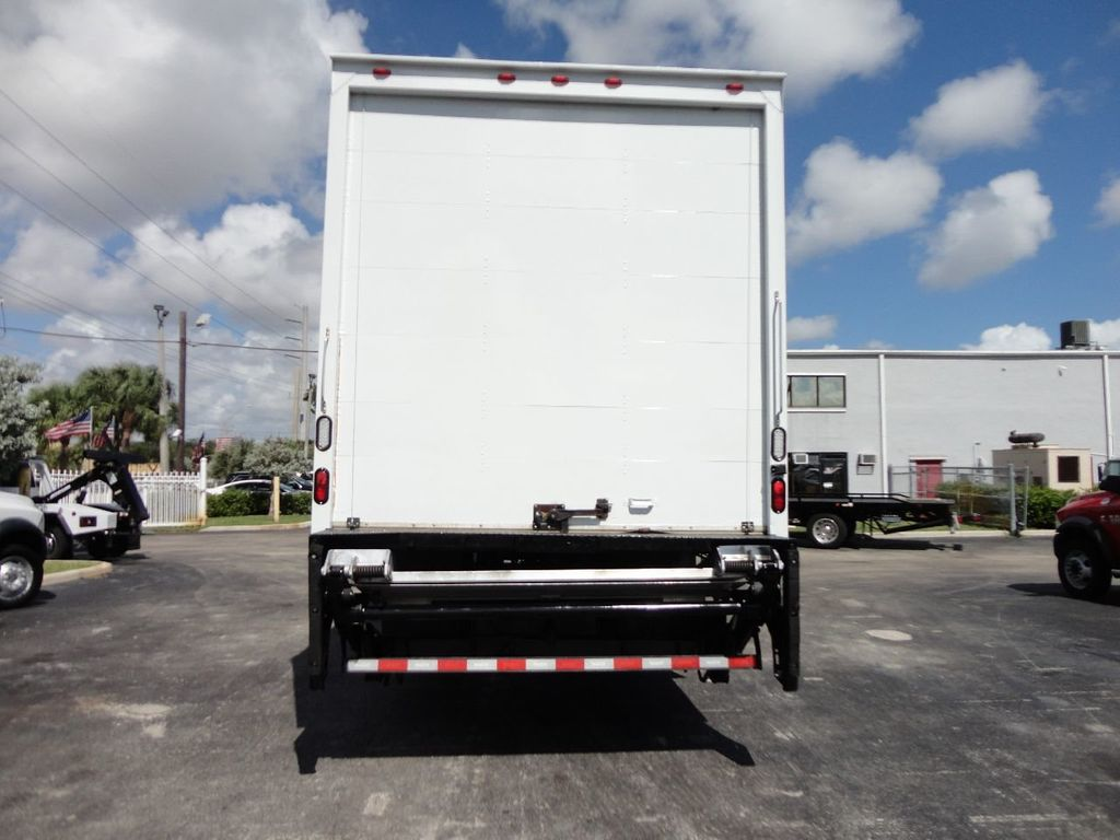 2015 HINO 268 26FT DRY BOX TRUCK . CARGO TRUCK WITH LIFTGATE - 18212180 - 7