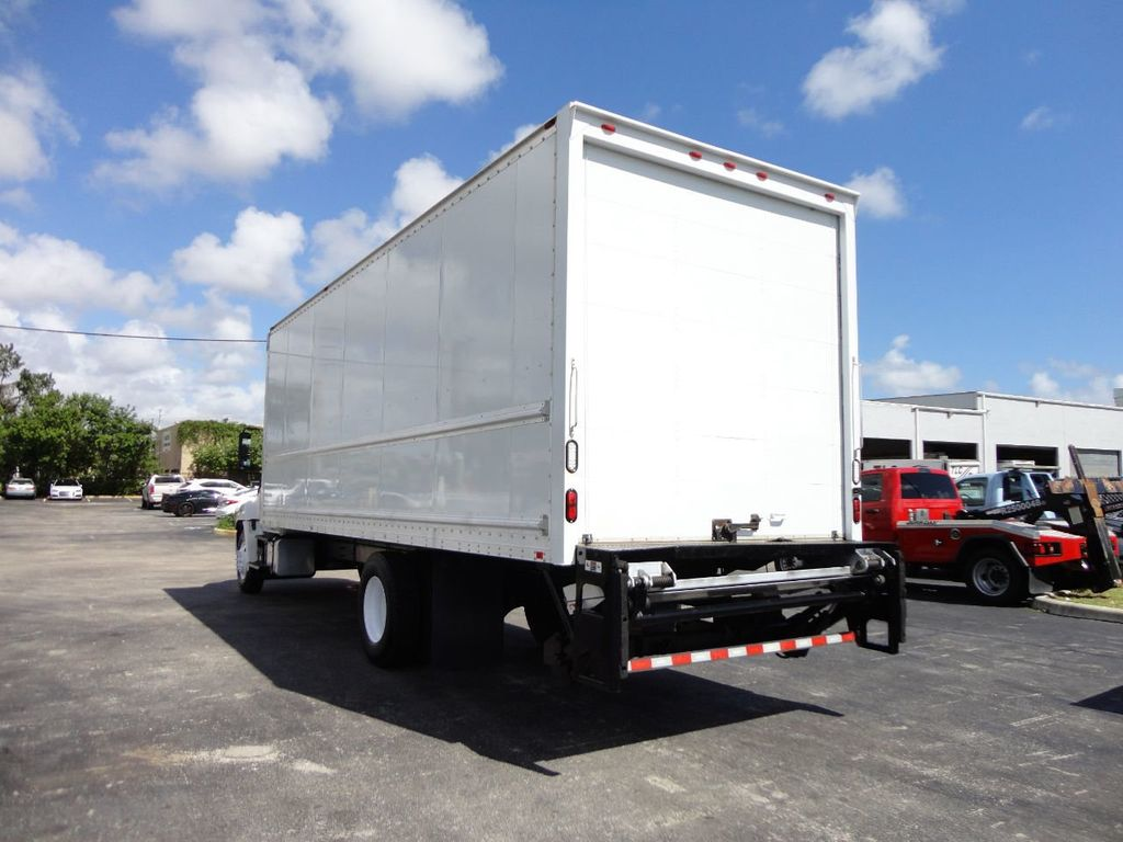 2015 HINO 268 26FT DRY BOX TRUCK . CARGO TRUCK WITH LIFTGATE - 18212181 - 8