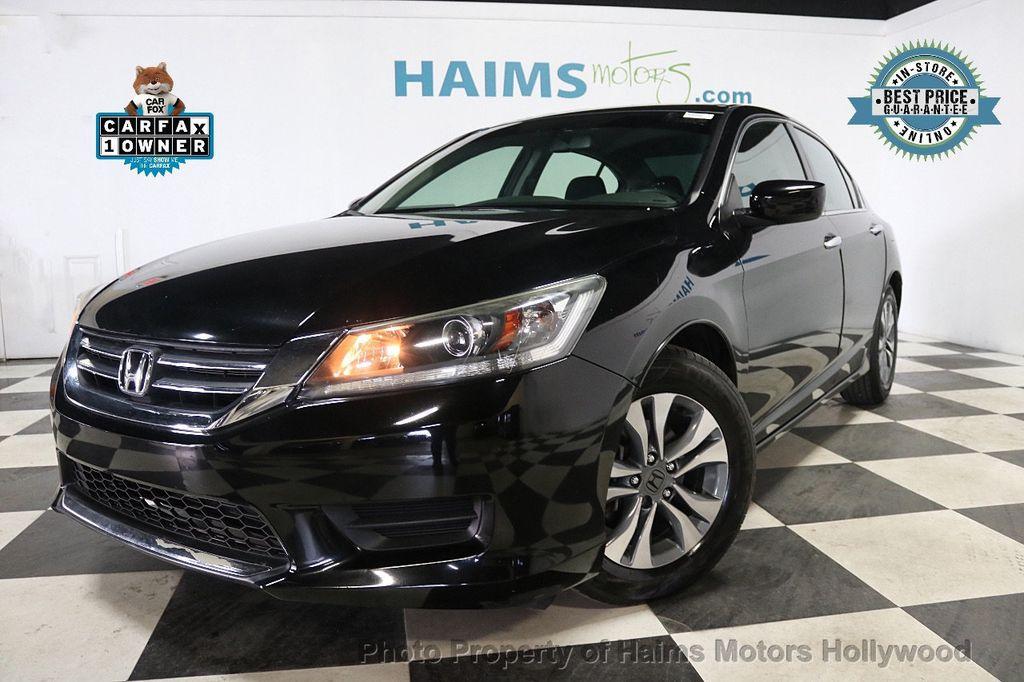 2015 Honda Accord Sedan 4dr I4 CVT LX - 17959109 - 0