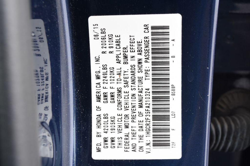 2015 Honda Accord Sedan 4dr I4 CVT LX - 17959214 - 52