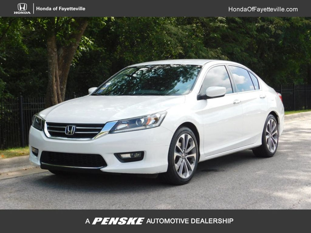 2015 Honda Accord Sedan 4dr I4 CVT Sport   18064596   0
